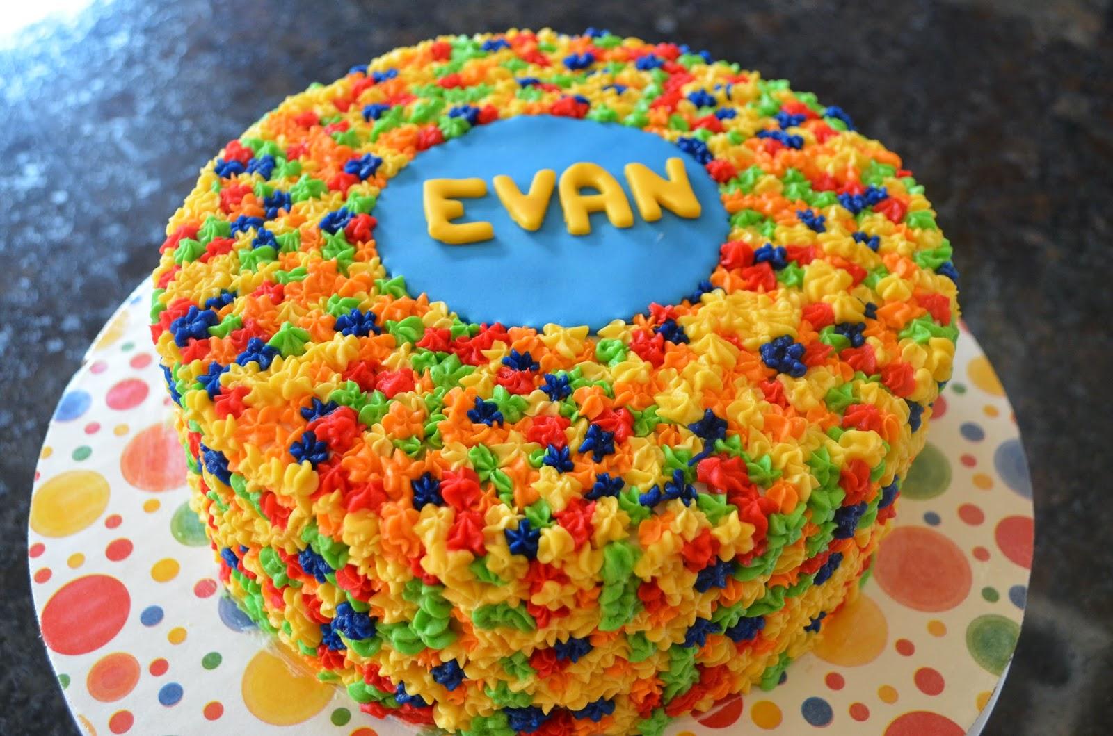 Evan S Birthday Cake