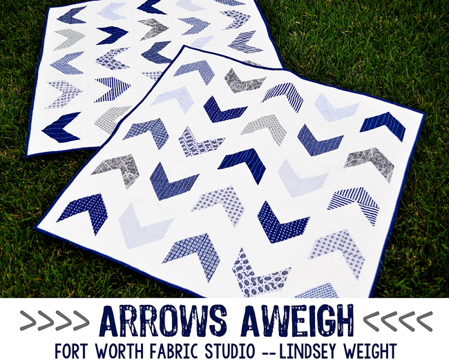 arrows aweigh quilt