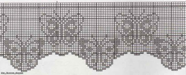artes da thami: cenefa crochet