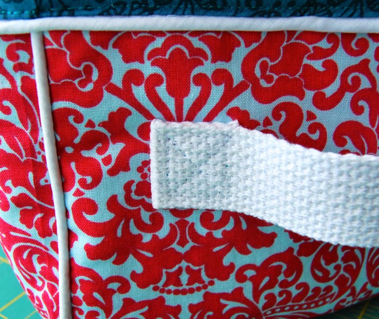 handles sewn on