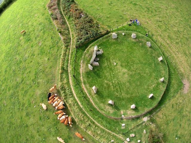 Fotografi aerial menggunakan layang-layang oleh Pierre Lesage