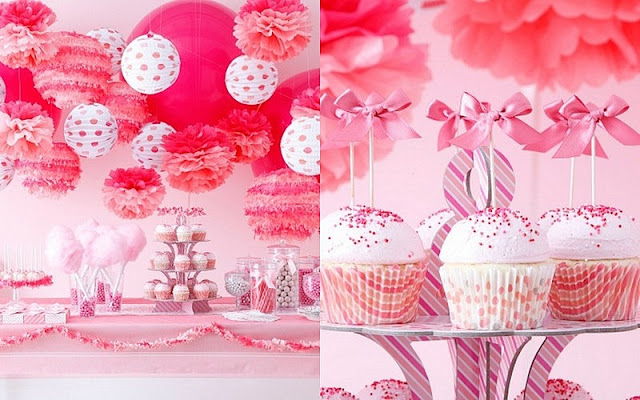 Martha Celebrations for JCPenny cotton candy table