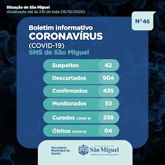 Boletim Epidemiológico 46 - São Miguel - RN