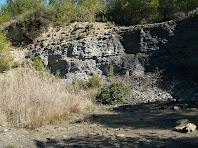 Antiga pedrera del Rubió o Serracanta