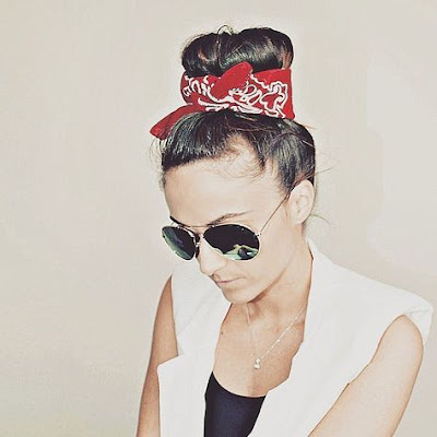 bandana hair style