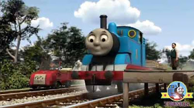 Happy birthday Sir Topham Hatt Thomas the little loco Winston car Blue Mountain mine party surprise