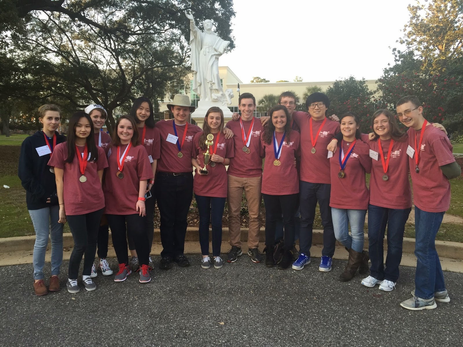 Montgomery Catholic's Science Olympiad Team Competes at Regional Tournament in Mobile 1