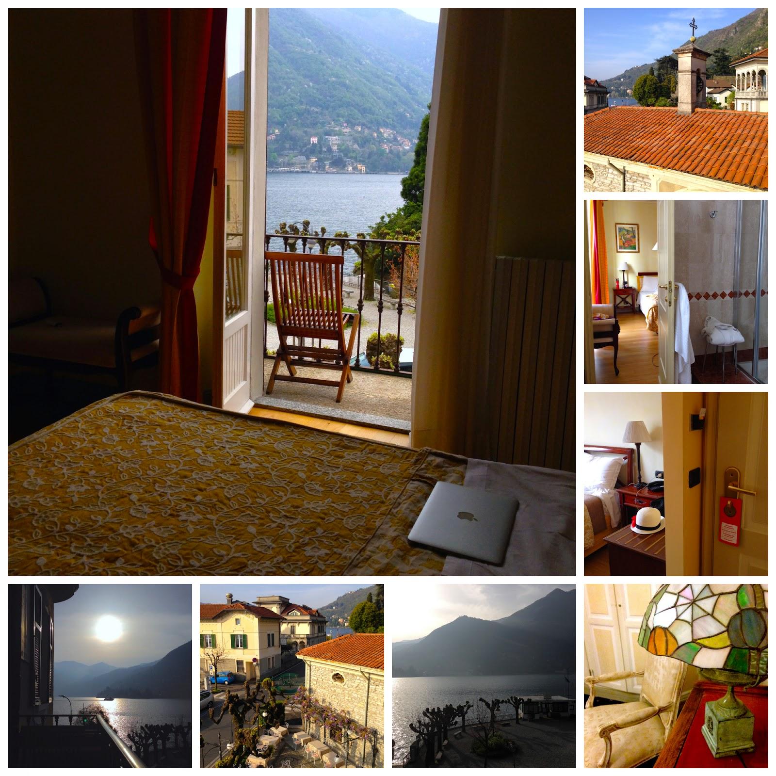 Camera con vista sul Lago di Como - foto di Elisa Chisana Hoshi