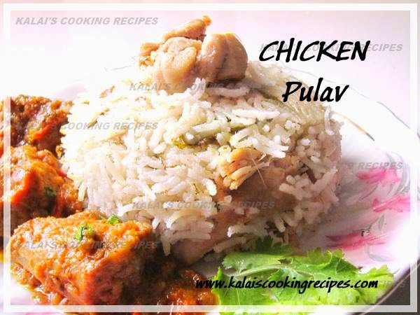 The Coconut Milk Chicken Pulav Recipe - Easy Pressure Cook Method