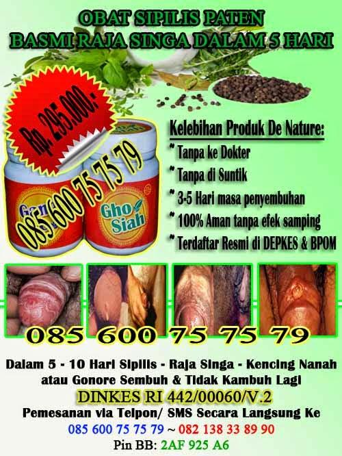 Jual Obat Herbal Sipilis  Kalimantan Tengah