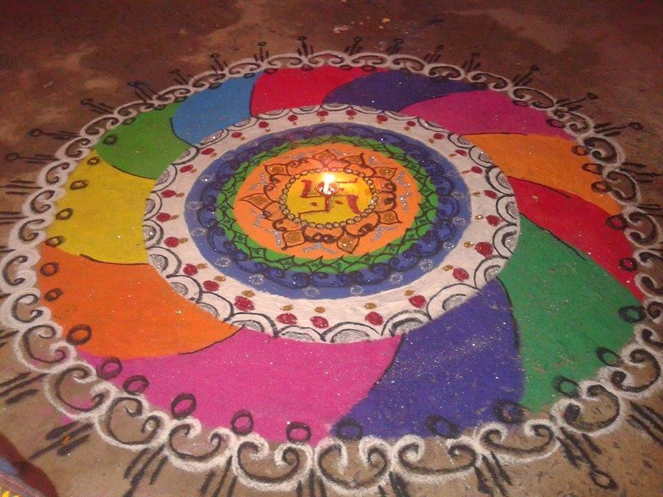 Rangoli Diwali Collection 25