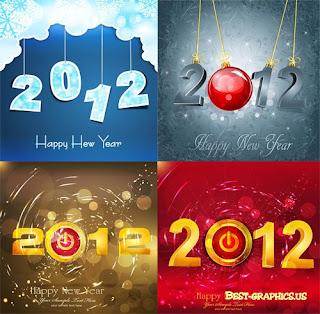 Kartu Ucapan Selamat Tahun Baru 2012
