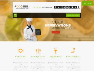Foodeez WordPress Theme