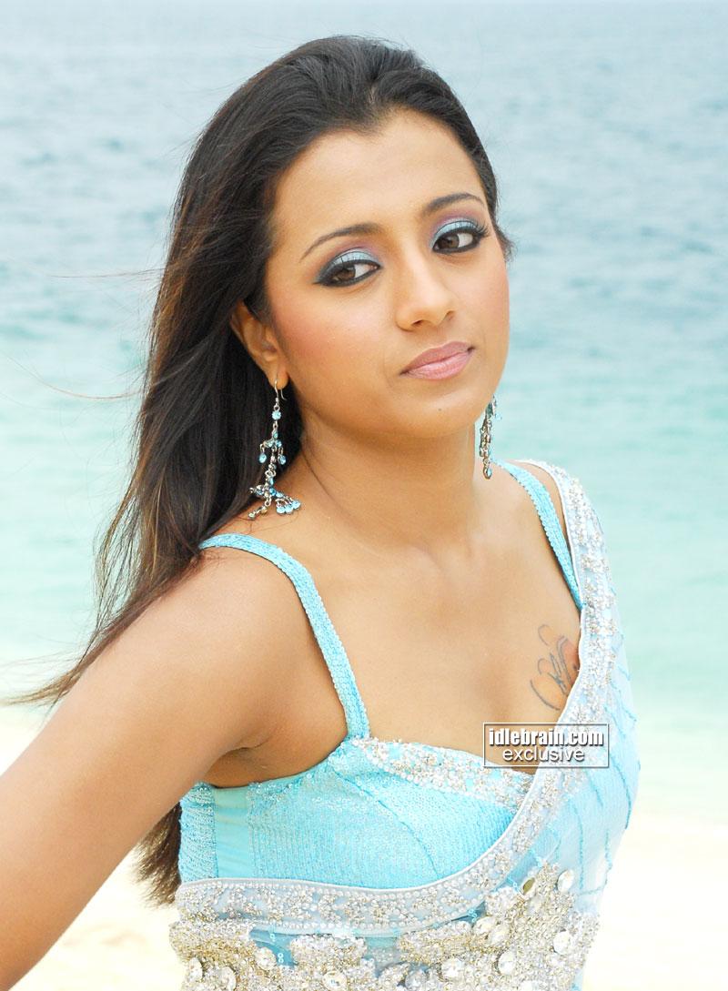 Trisha Hot Sexy Telugu Girl Wallpaper