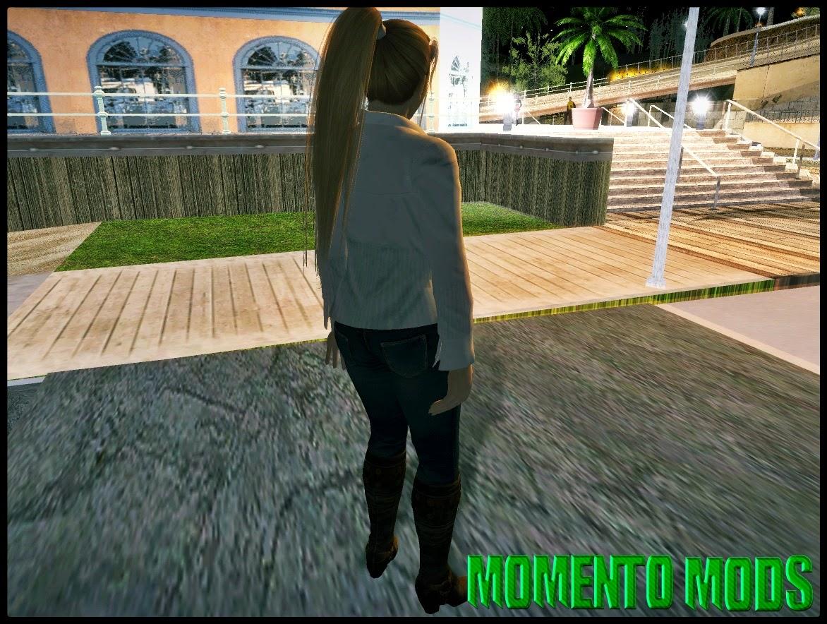 GTA SA - Skin Da Sarah Dead Or Alive 5