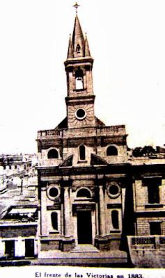 La antigua parroquia de las Victorias