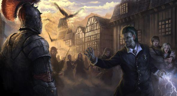 Darek Zabrocki daroz deviantart ilustrações arte conceitual fantasia games Incidente
