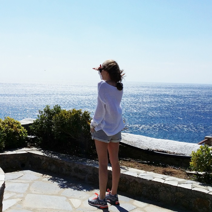 Fashion And Style Mykonos Instagram Travel Diary Video