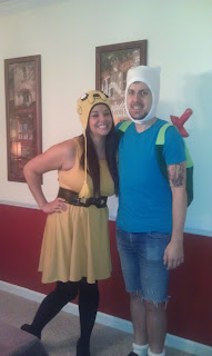 Finn and Jake Costume