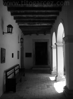 Claustro da Igreja da Ordem Terceira do Carmo, em São Cristóvão - Sergipe - Por Tito Garcez