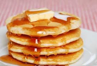 Pancake Cokelat Hitam Manis
