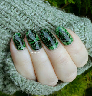 Messy Mansion MM48 and China Glaze Liquid Leather