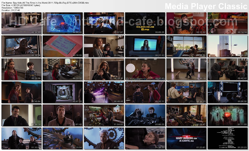 Spy Kids - All the Time in the World in 4D 2011 video thumbnails