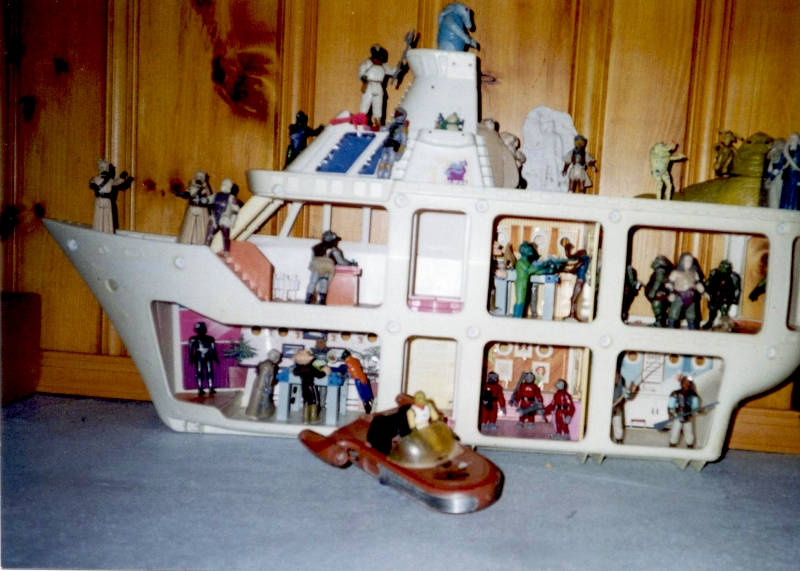 War Toys For Girls : Action figure adventures jabba s sail barge or glamor