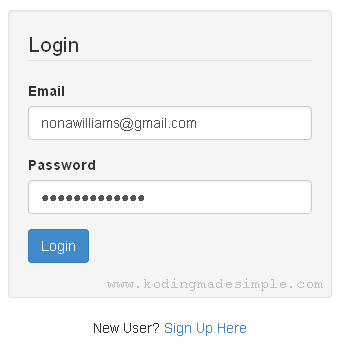 how to create login page in php and mysql