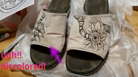 yucky sandals