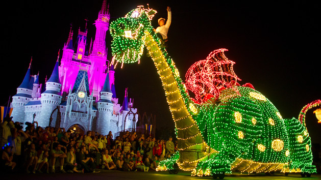 Walt Disney World Parade Magic Kingdom