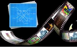 Funções de edição de vídeo