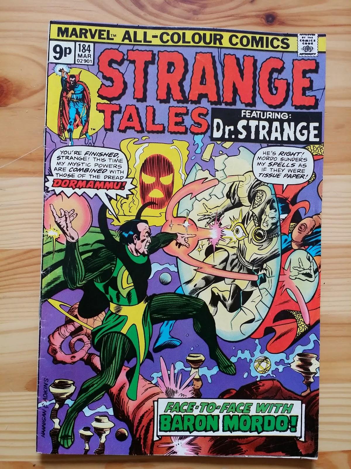 Marvel Strange Tales Featuring Dr Strange