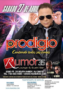 EL PRODIGIO EN &quot; RUMOR 35 LOUNGE &amp; SUSHI BAR&quot;
