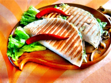 Quesadilla - meksykańska kanapka.