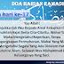 Doa Harian Bulan Ramadhan | Doa Hari Ke-17
