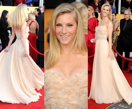 Heather Morris   Romona Keveza Gown