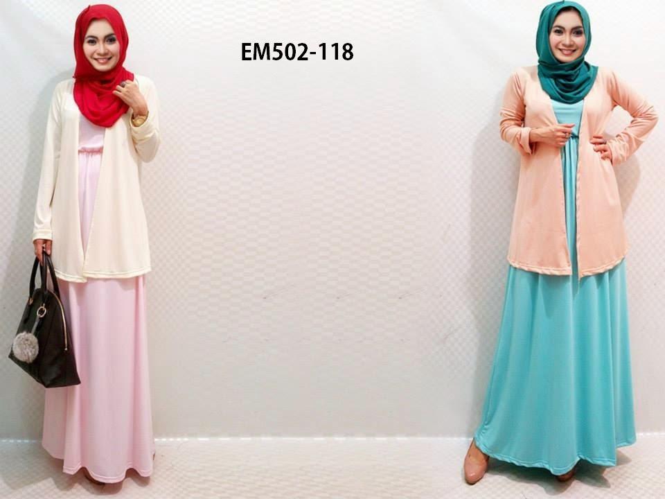 BUSANA 7 OUTER DRESS SHAWL SET EM502 118