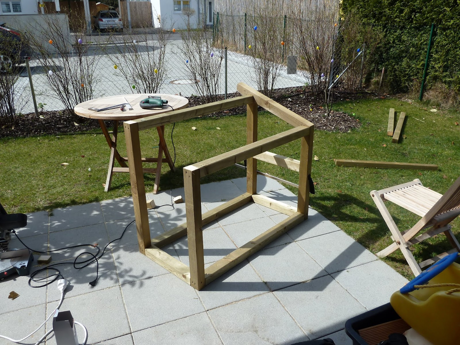 hobbywerker: die grillstation, Garten und erstellen