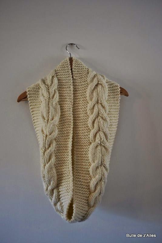 Tricoter un snood debutant - Apprendre a tricoter debutant ...