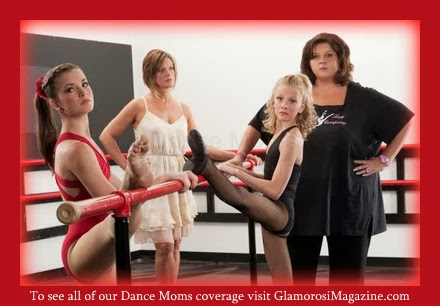 Brooke Hyland, Kelly Hyland, Paige Hyland and Abby Lee Miller from Dance Moms