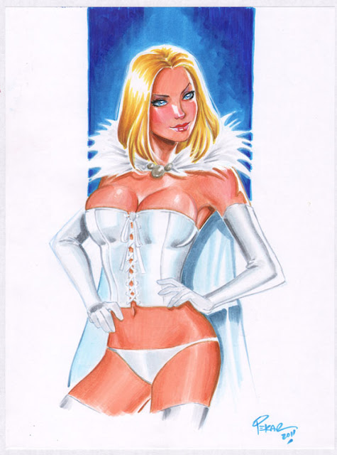 Marvel's White Queen by Joe Pekar