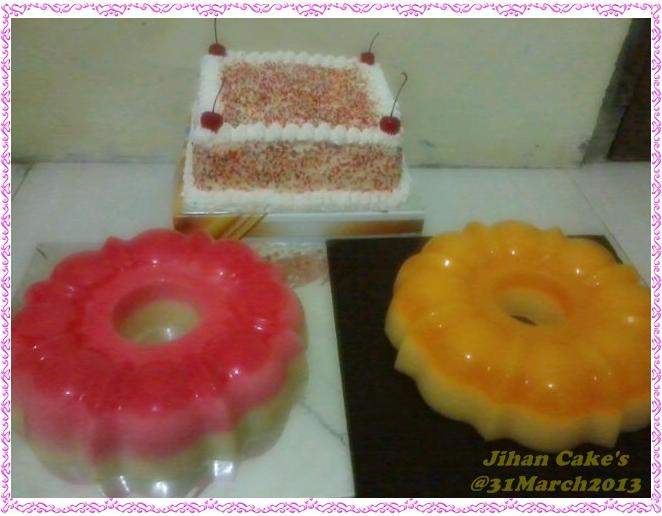 jihan cake order rainbow cake area jagakarsa
