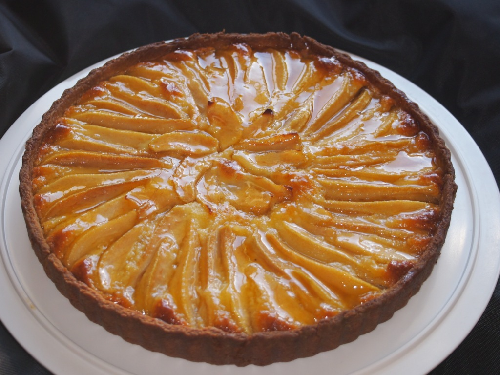 Just Desserts Here: Normandy Pear Tart recipe