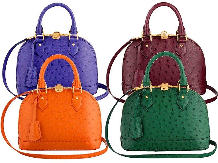 Louis Vuitton exotic skin touches 2013