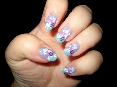 pastel1 Summer Nails art Manicure for weekends