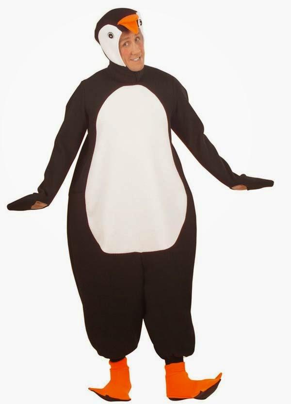 Pingvin kostyme