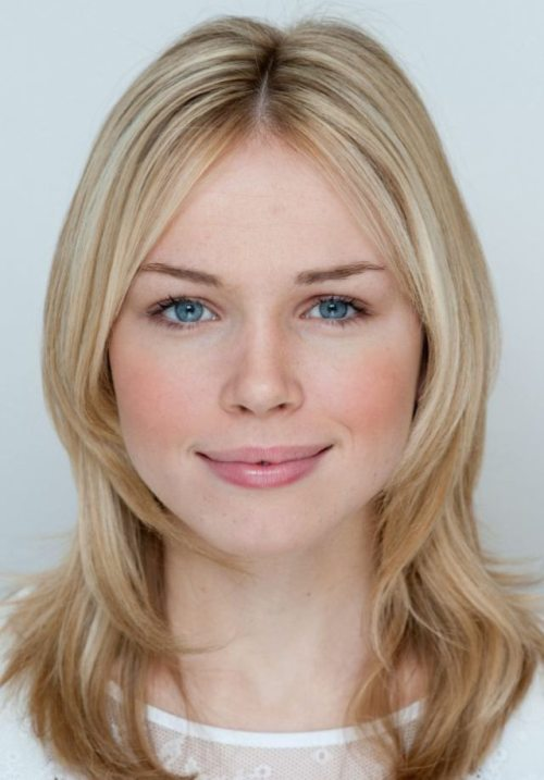 Britain's Most Naturally Beautiful Face winner Florence Colgate