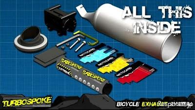 "COOL : ""Turbospoke"", Sistem Ekzos Untuk Basikal"
