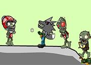 juego lobo negro vs zombies